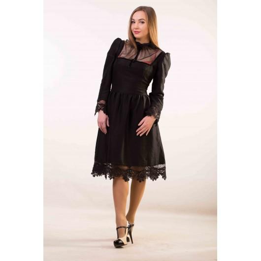 Платье черное Annette Gortz