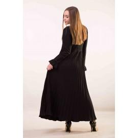 Платье черное длинное Annette Gortz