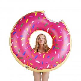 Розовый пончик